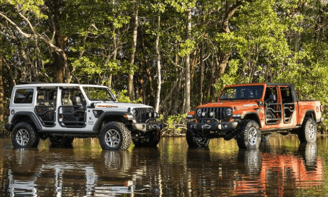 Jeep Wrangler and Gladiator Three O Five Edition at the 2019 Miami International Auto Show