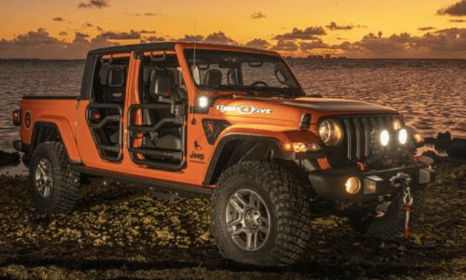 Jeep Gladiator Three O Five Edition at the 2019 Miami International Auto Show