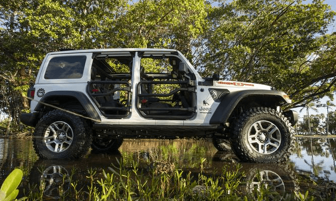 Jeep Wrangler Three O Five Edition at the 2019 Miami International Auto Show