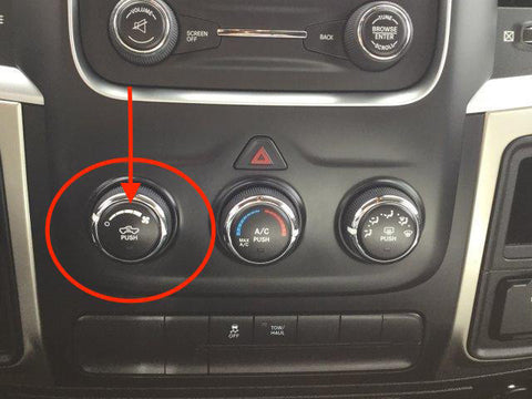 Any Climate Control Issue - Ram 7 speed / 4 speed Bezel