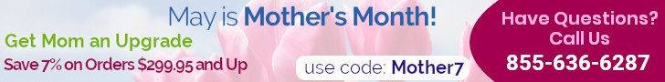 Infotainment.com Mother's Day Sale - Save 7% on any sale over $299.95. Use Code: Mothers7
