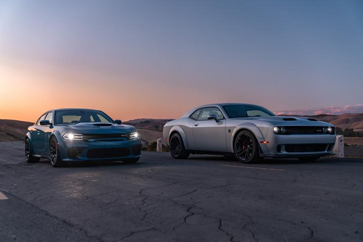 2020 Dodge Challenger and Charger