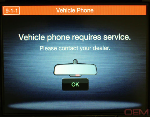 911 Vehicle Phone Override Cable