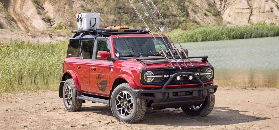 2021 Ford Bronco Outer Banks Fishing Concept Vehicle