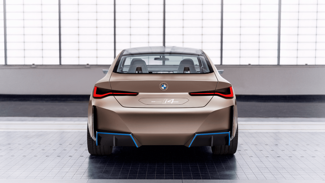BMW Concept i4 Back View