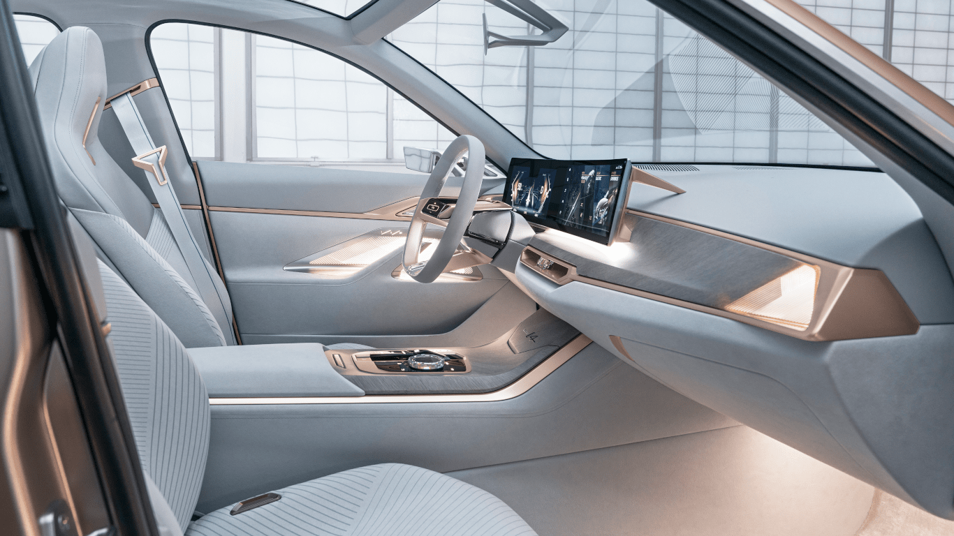 BMW Concept i4 Interior View