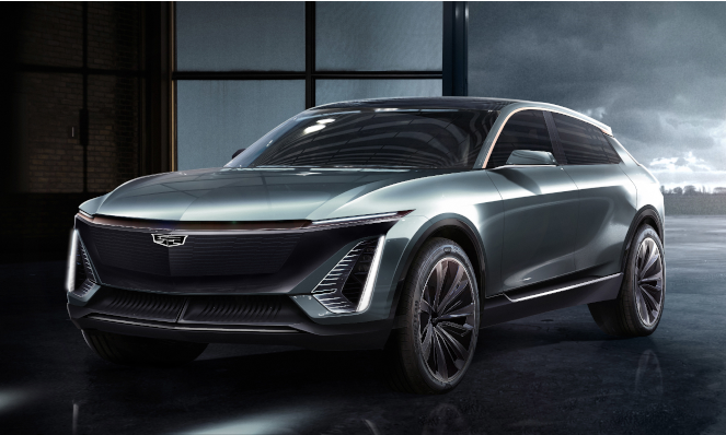 GM Introduces a Cadillac Electric Vehicle