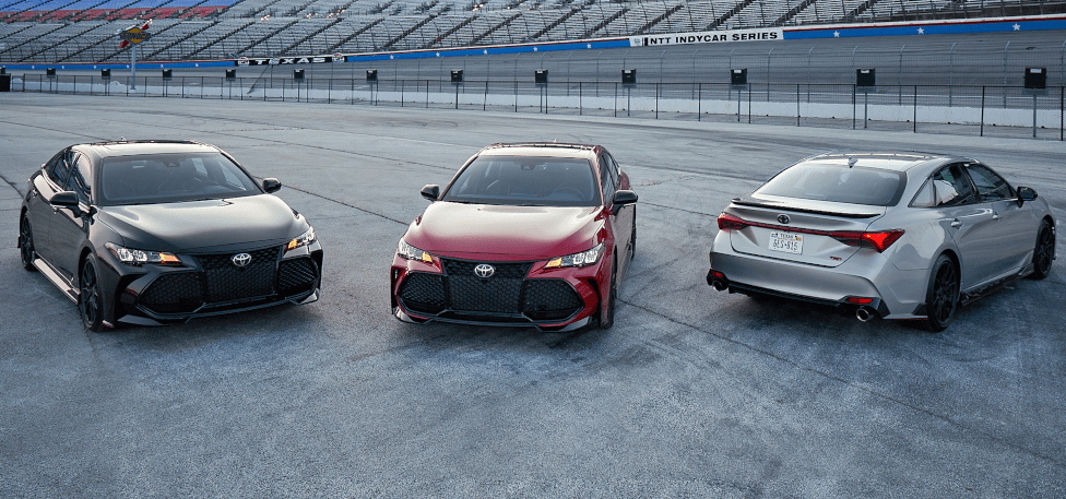 First-Ever Camry TRD and Avalon TRD Introduced by Toyota