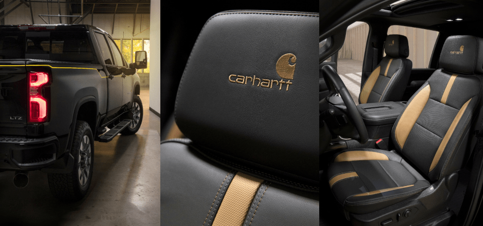 2021 Chevorlet Silverado Carhartt Special Edition Interior Features