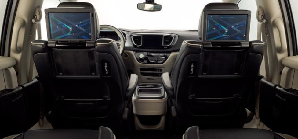 2020 Chrysler Pacifica - Backseat Entertainment System