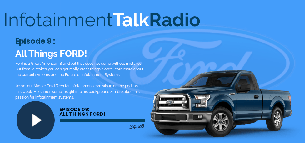 Infotainment.com Podcast: The Ford Infotainment Episode