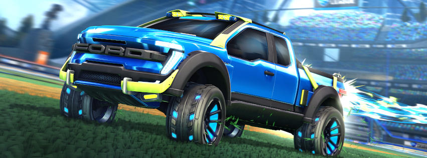 2021 Ford F-150 Rocket League