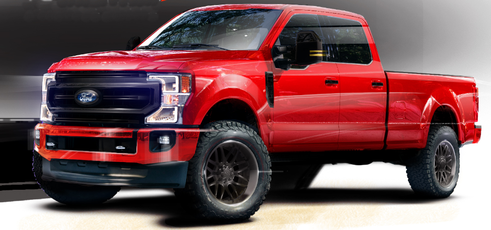 CGS Performance Products Ford F-250 Super Duty Tremor Crew Cab with Black Appearance Package