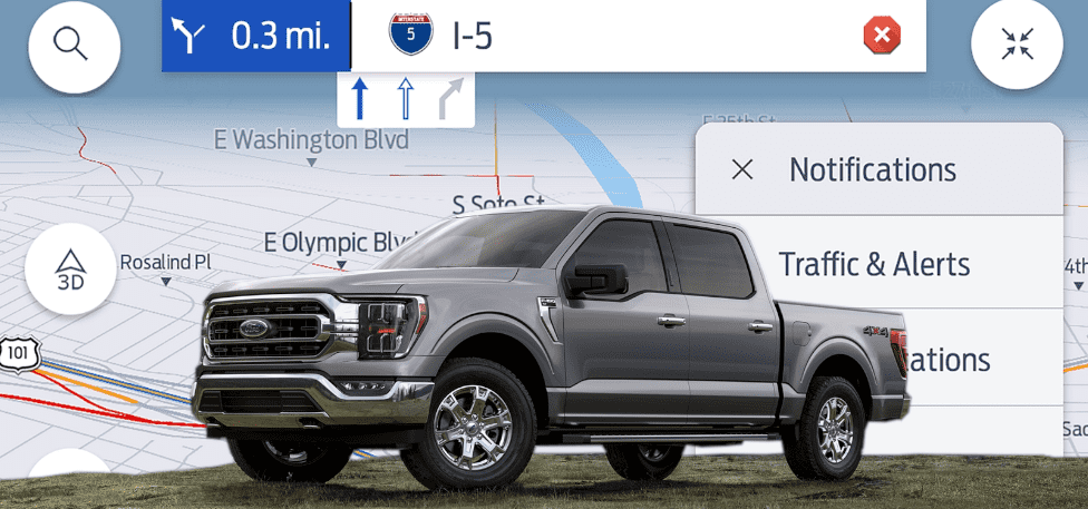 Tom Tom Traffic will provide real-time traffic info for Ford SYNC 4
