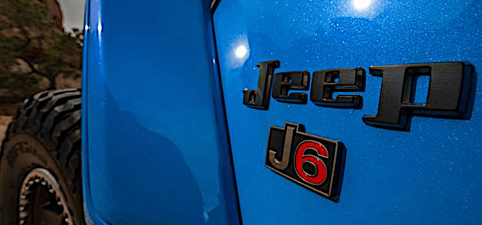 Jeep J6 Concept Vehicle to be displayed at SEMA 2019
