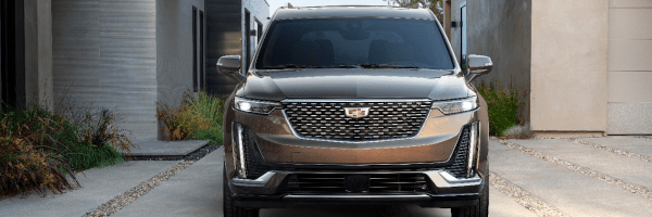 2020 Cadillac XT6 Stamp Foiled Grille
