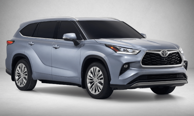 The new 2020 Toyota Highlander