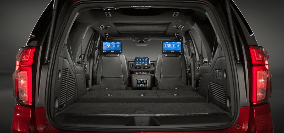 2021 Chevrolet Suburban and Tahoe rear view
