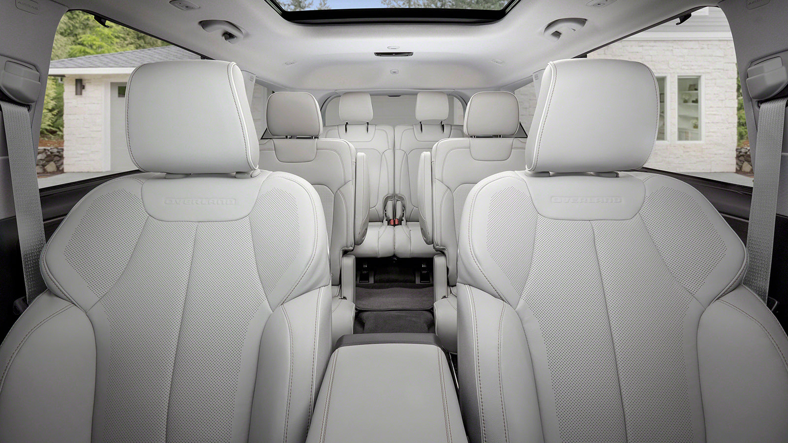 2021 Jeep Grand Cherokee Grand L Interior View with Third Row