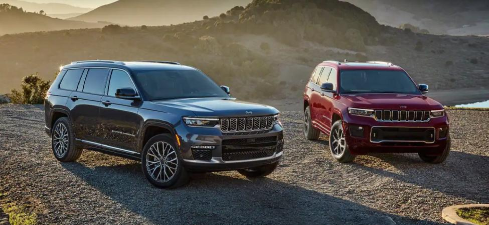 2021 Jeep Grand Cherokee Grand L Summit and Overland Editions