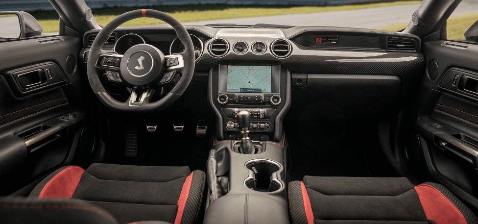 2020 Mustang Shelby GT350R Interior View