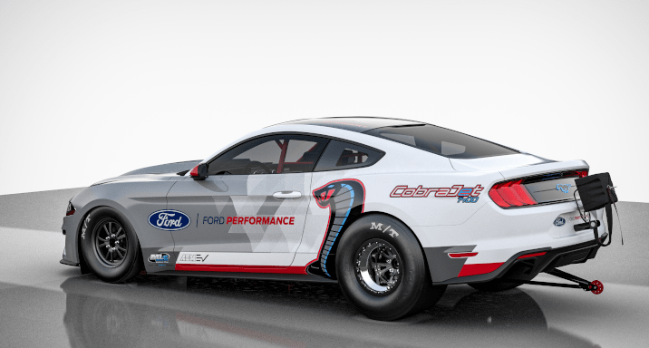 Ford Mustang Cobra Jet 1400 Dragster Prototype