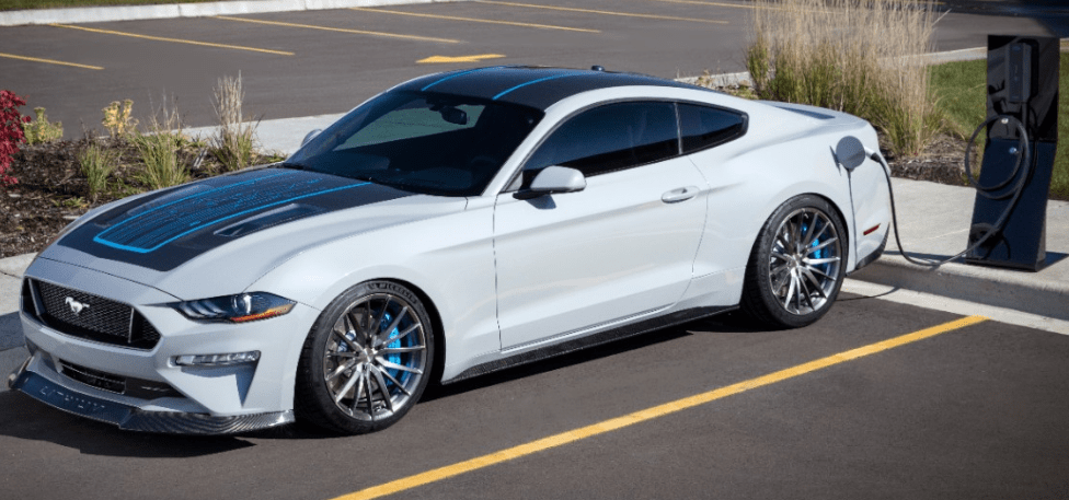 Ford Mustang Lithium Electric Vehicle Concept