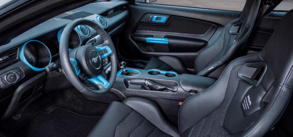 Ford Mustang Lithium Electric Vehicle Concept - Interior View