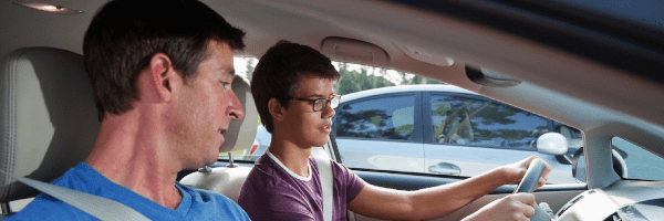 A certified drivers education course can be a good way to get your teen started with the basics of driving.