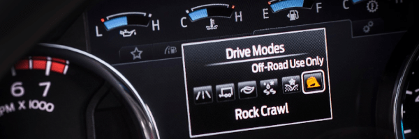 The Tremor package for Ford F-Series Super Duty trucks comes with an exclusive Rock Crawl mode.