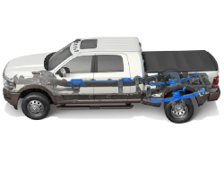 2019 Ram 2500 and 3500 Rear Suspension Model