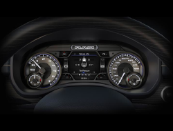 2019 Ram 2500 and 3500 Instrument cluster showing 6-Tire Pressure Monitoring
