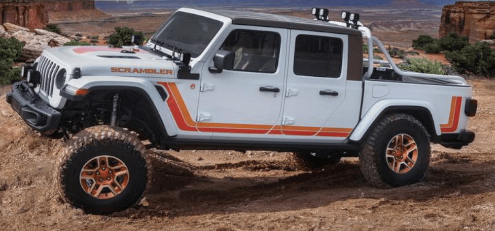 Jeep Scambler Concept Vehicle to be displayed at SEMA 2019