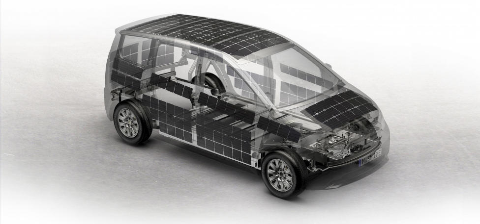 Sono Motors Sion Solar Electric Vehicle Solar Panel Design