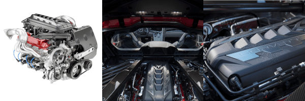 2020 Chevorlet Corvette Stingray Infotainment Screen V-8 Engine