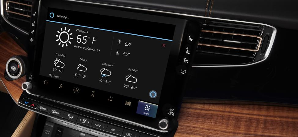 2022 Jeep Grand Wagoneer 10.5 inch Touchscreen