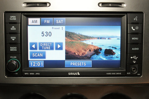 Mopar REN 430 MyGIG Touchscreen Radio - Low