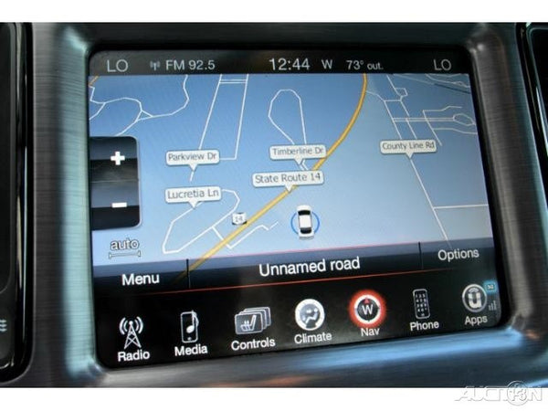 2015-2016 Dodge Challenger GPS Navigation 8.4AN RA4 Radio