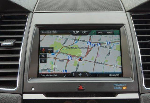 2013-2015 Ford Taurus MyFord Touch Sync 2 GPS Navigation Upgrade
