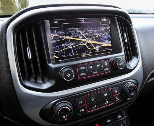 2016-2018 GMC Canyon IntelliLink® IO6 GPS Navigation Radio ...