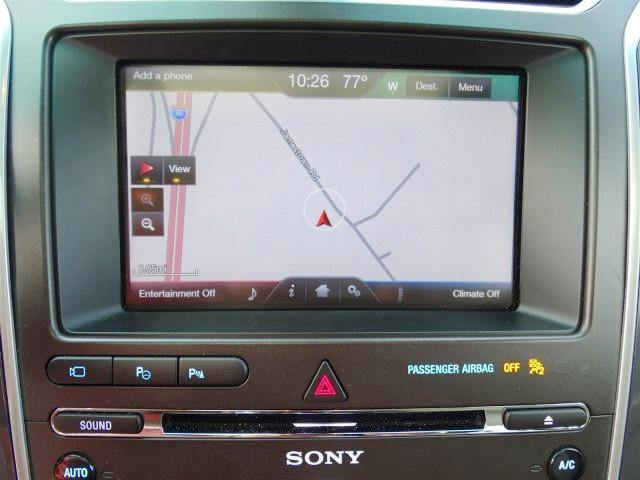 Explorer Edge Myford Touch Sync  Gps Navigation Upgrade