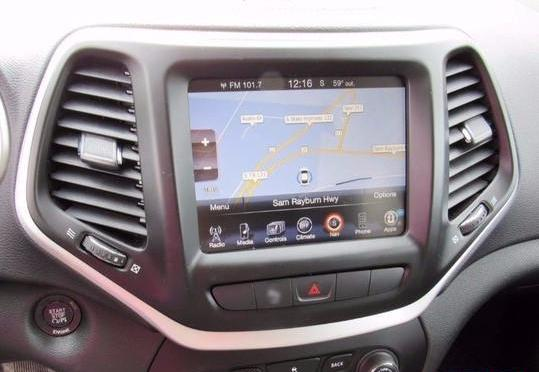 U Connect Phone >> 2014-2018 Jeep Cherokee GPS UConnect Navigation 8.4AN RA4 ...