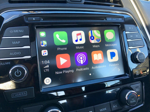 2016 Nissan Maxima NissanConnect® GPS Navigation Radio with Apple CarPlay and Android Auto