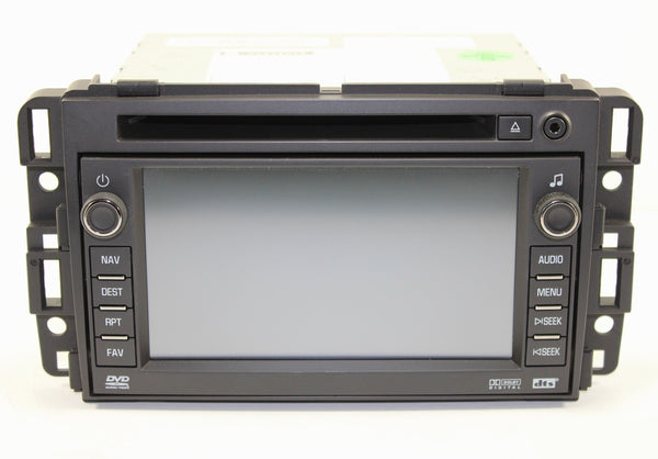 2007-2009 Chevrolet Silverado Factory GPS Navigation Radio
