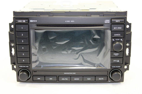 Repair Service - FCA REC 6CD GPS Navigation Radio