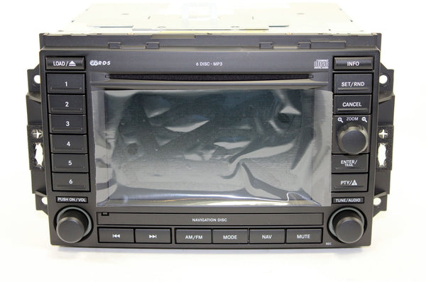 2006 2008 Dodge Ram 1500 Gps Navigation Rec Radio