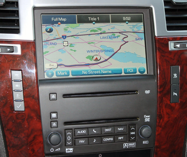 2007-2009 Escalade Navigation System Factory GPS Radio