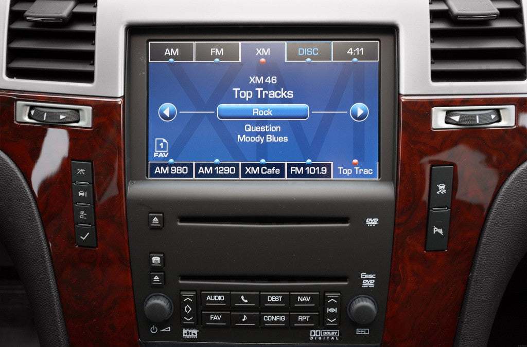20072009 Escalade Navigation System Factory Gps Radio Rhinfotainment: 2007 Cadillac Escalade Radio At Elf-jo.com