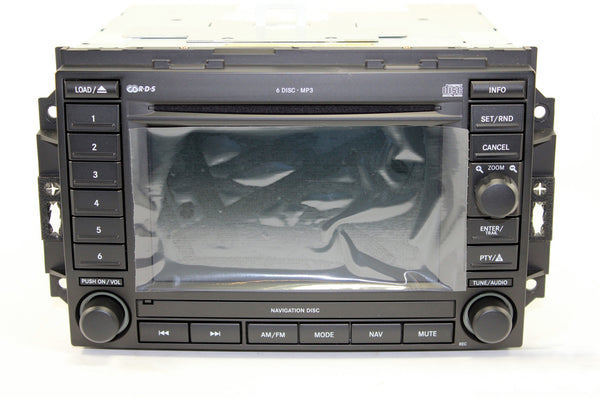 2005-2007 Jeep Grand Cherokee GPS Navigation REC Radio