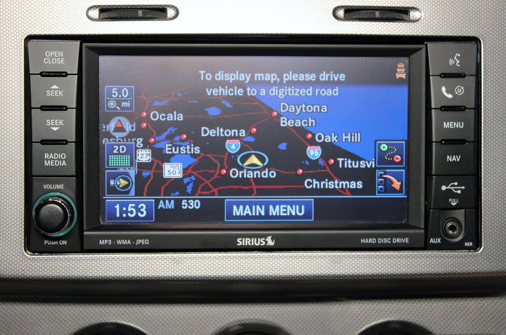 2007 2010 dodge nitro gps navigation rer 730n radio infotainment com rh infotainment com 2005 Town and Country 2009 Town and Country